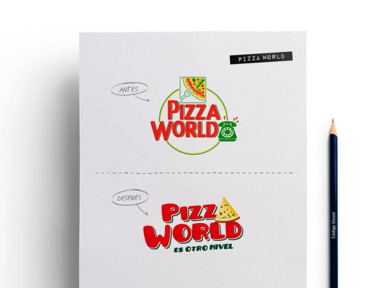 Rediseño de la empresa pizza world