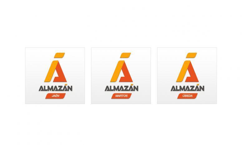rediseño del logo de almazán