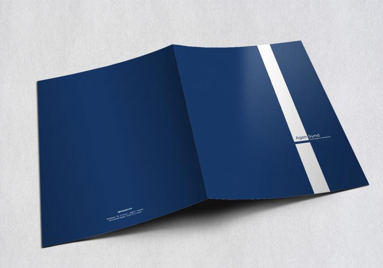 diseño de papelería para empresas agensynd obra de la agencia de publicidad Código visual