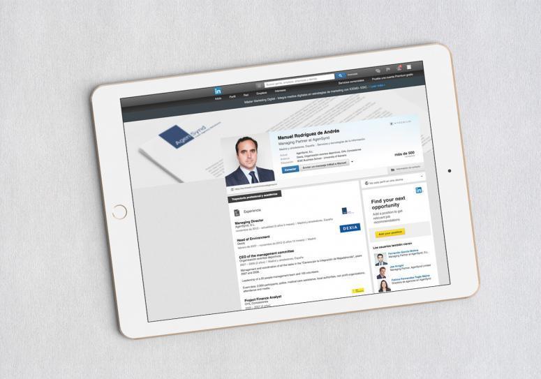 Agensynd_linkedin gestión de redes sociales