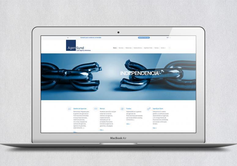 rebranding y diseño de marca de agensynd