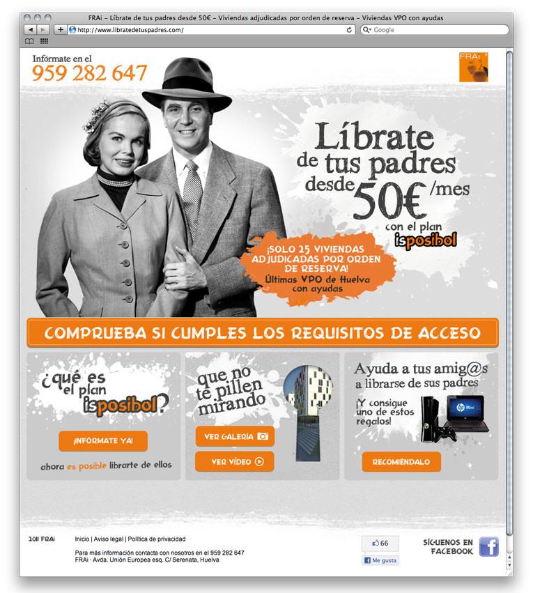Empresa FRAi diseño web