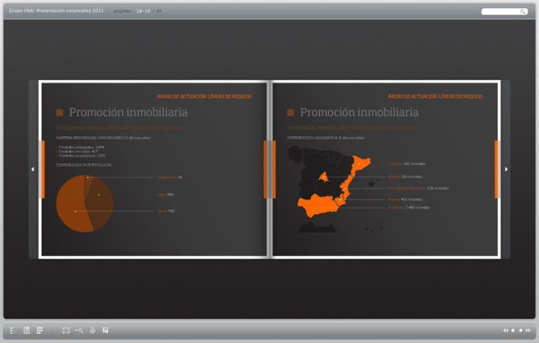 portfolio en ebook de la empresa FRAi