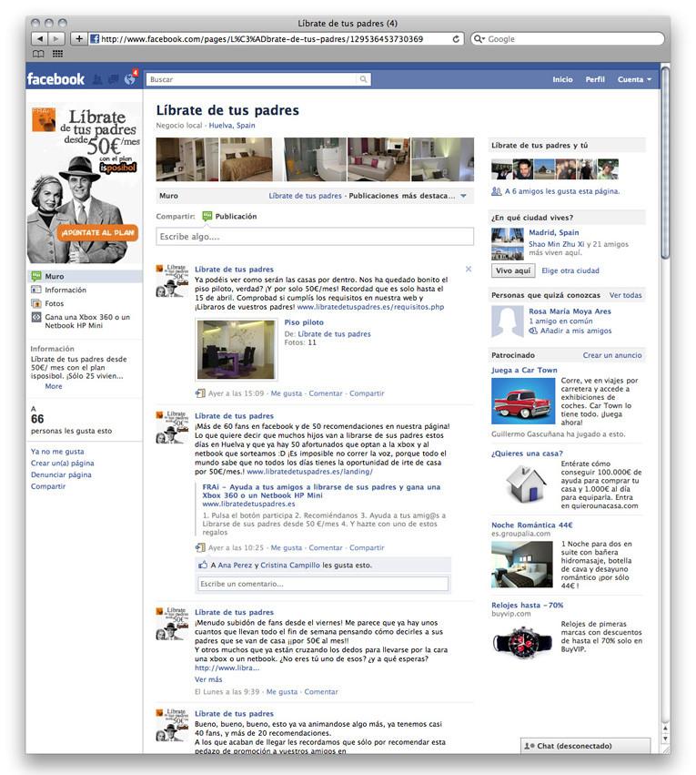 Empresa FRAi redes sociales