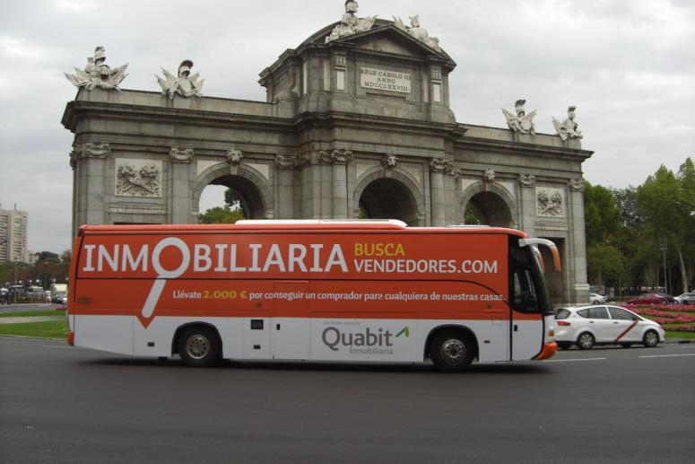 campaña de street marketing para quabit