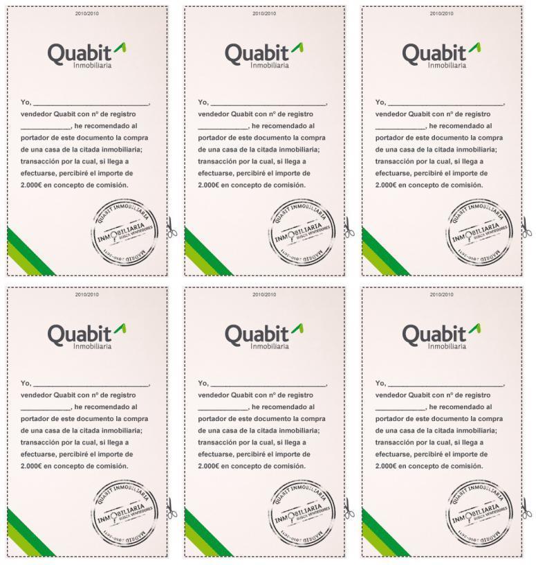 Inmobiliaria Quabit diseño