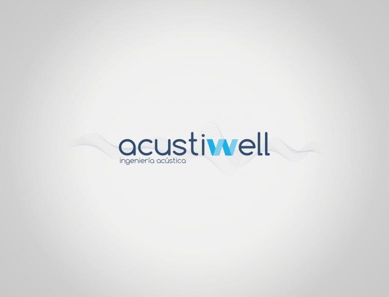 logo_acustiwell diseño de código visual