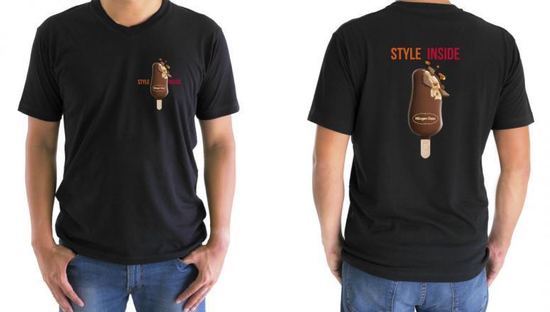 Style inside campaña de Häagen Dazs merchandising obra de Código visual