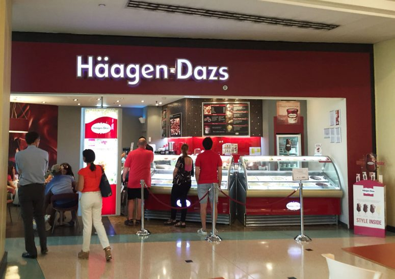 campaña de häaguen Dazs style inside cartelería trabajo de Código visual