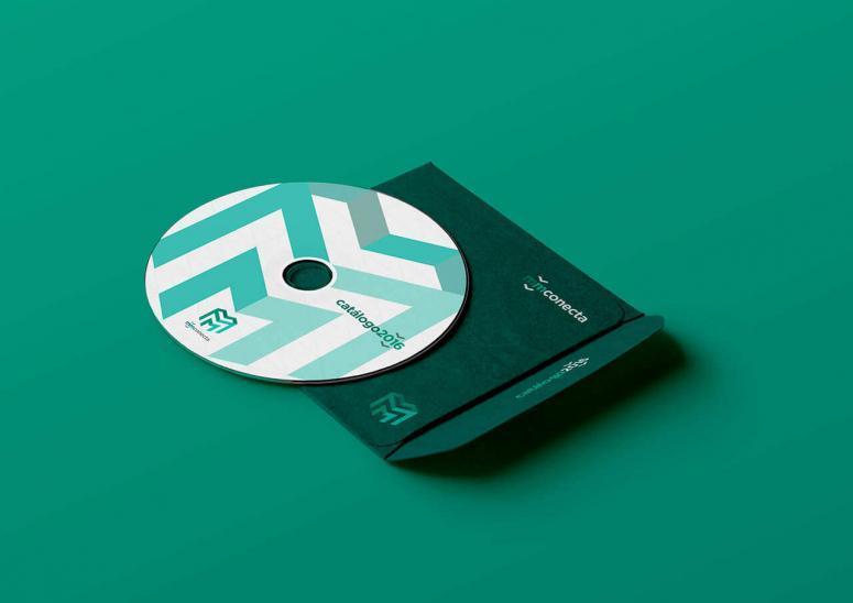 cd con el catálogo 2016 de mm conecta con el nuevo diseño de código visual