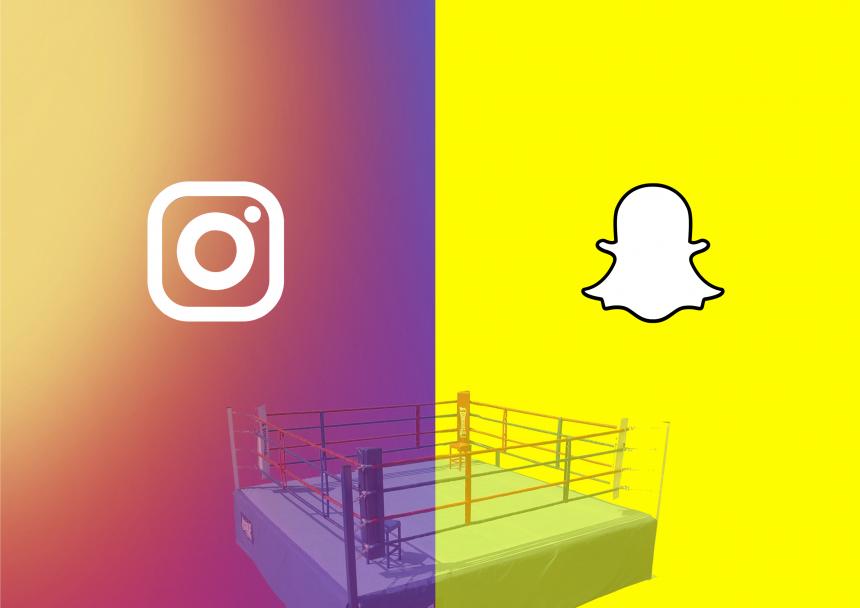 diferencias entre snapchat e instagram