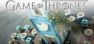 Campaña de twitter y juego de tronos