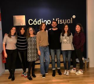 Fundación Aladina con el equipo de Código visual