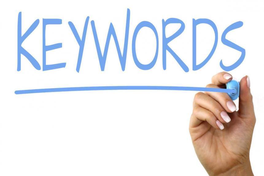 saber como buscar palabras clave