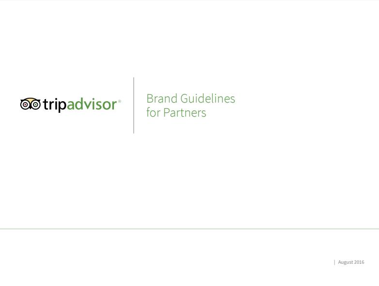 manual corporativo de Tripadvisor