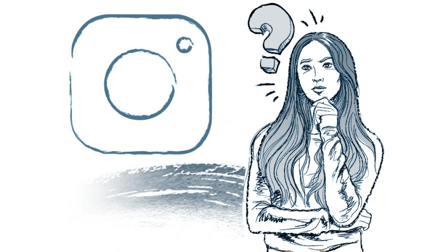 Qué es instagram código visual